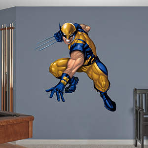 Wolverine Fathead Wall Decal
